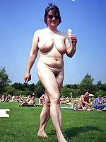 Sexy nudist moms and fat grannies - Chubby Naturists
