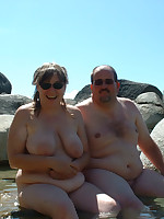 Fat nudist married couples and BBW singles - Chubby Naturists