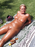 Fat nudist older ladies for your hard cock - Chubby Naturists