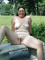 BBW nudist housewives with various breast size - Chubby Naturists