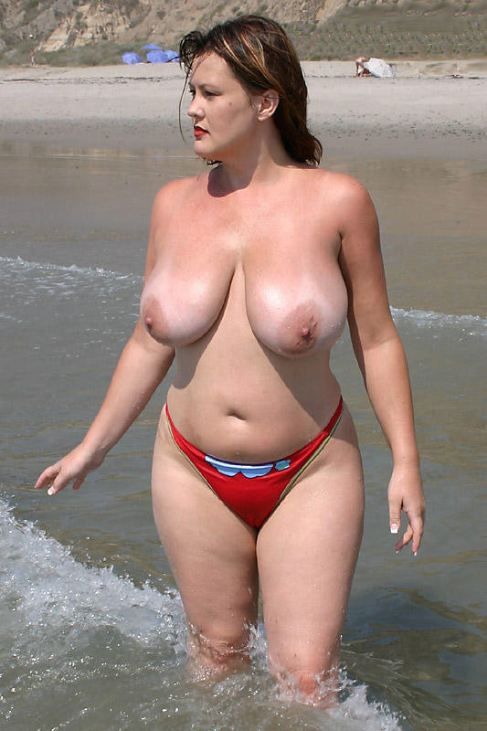 That can Chubby nude beach wife your