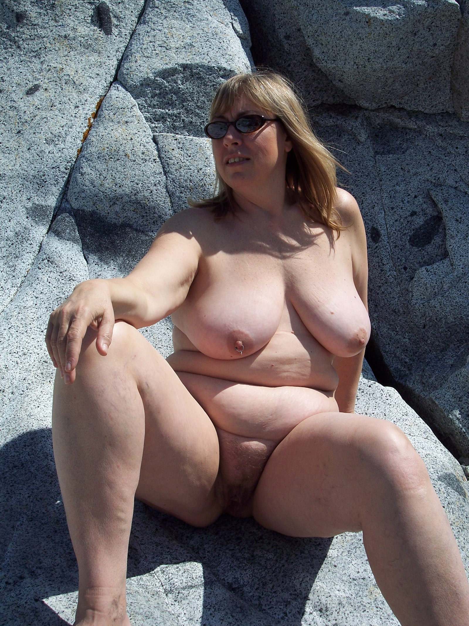 Beach porn nudist not give