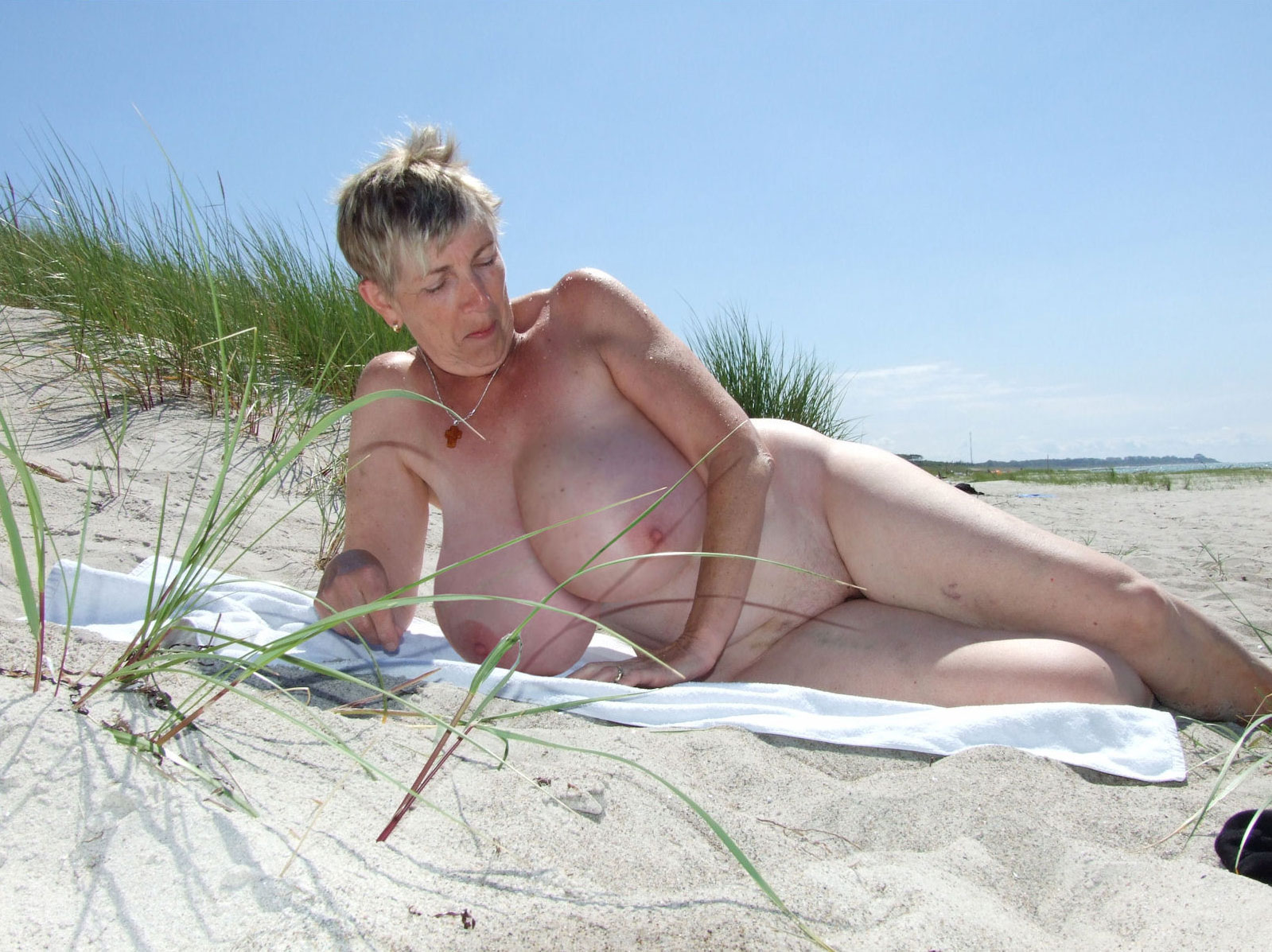 Absolutely Fat granny nude beach join
